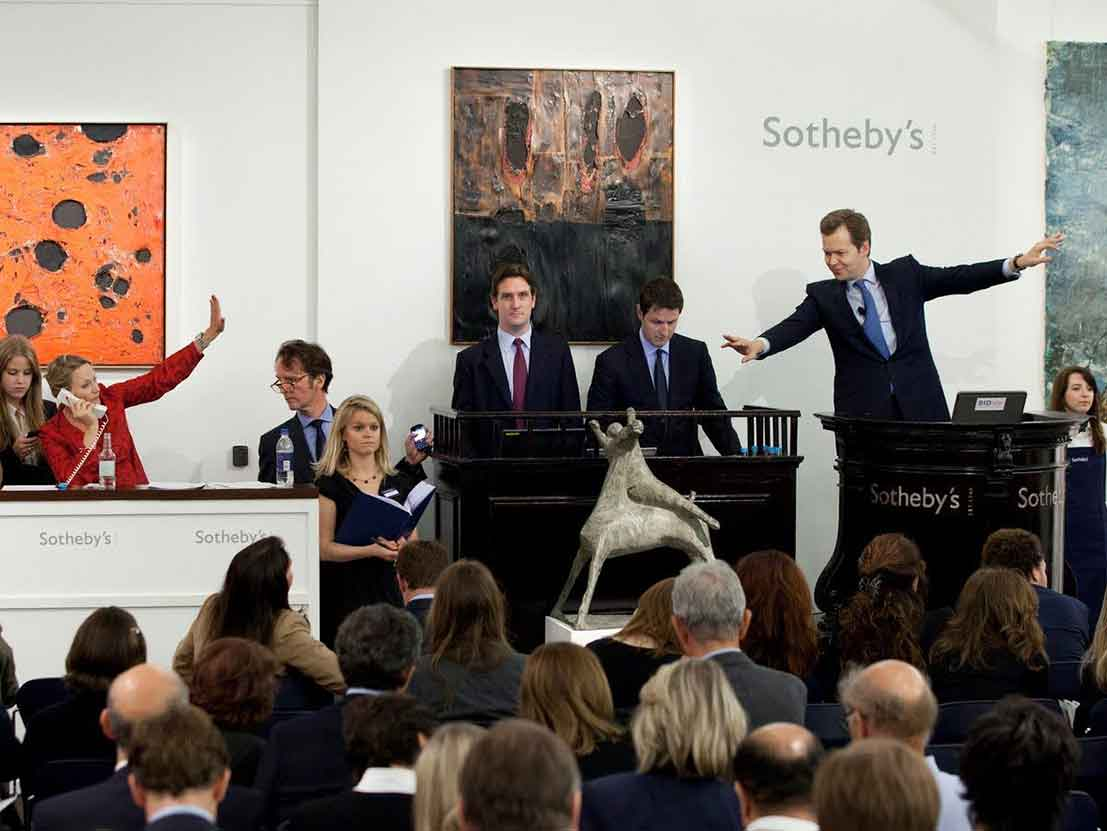 Sothebys Auction House Nyc