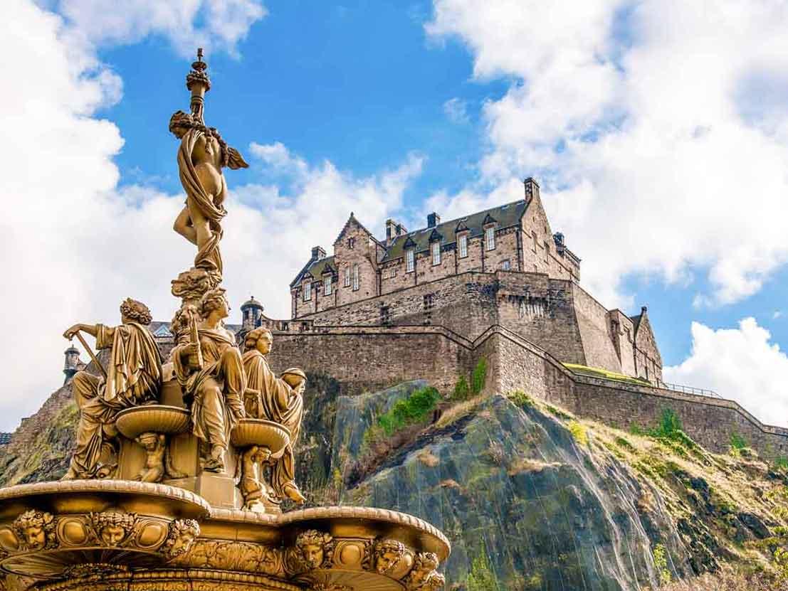Edinburgh Scotland Castle