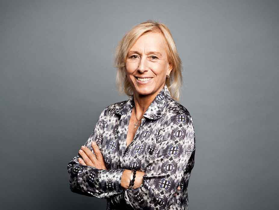 Meet Martina Navratilova