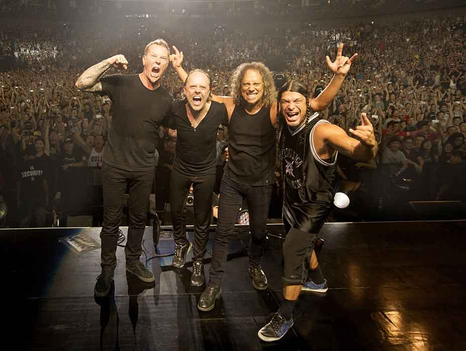 Metallica Rock Band Tour