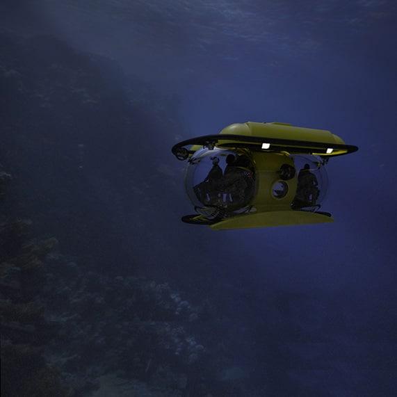 Mini Submarine Dive