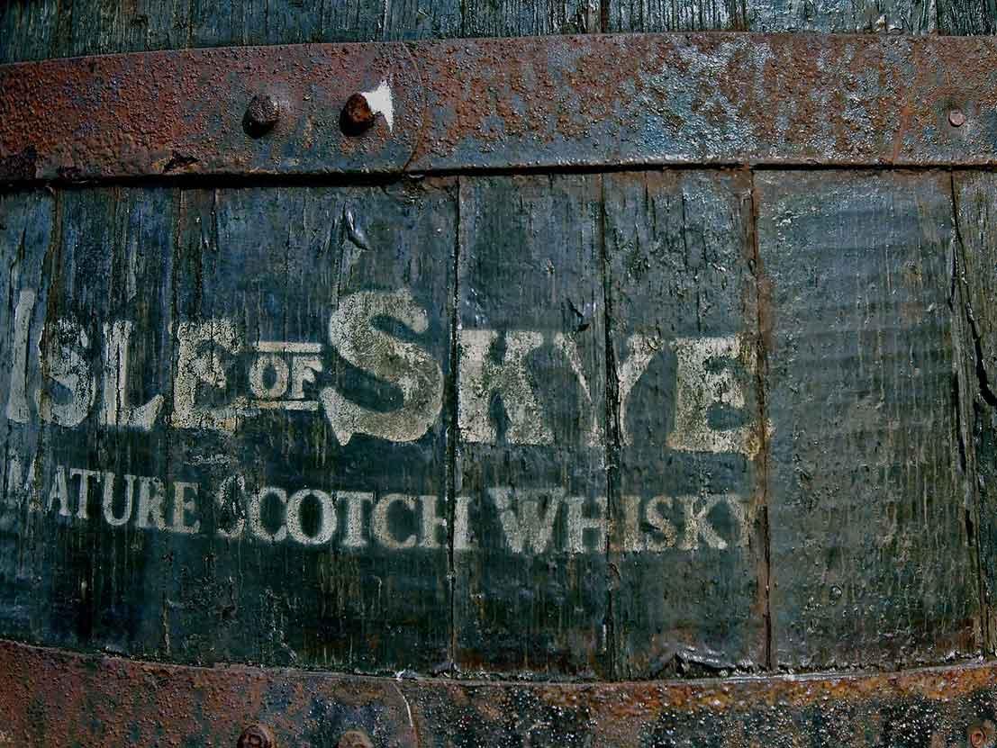 Scottish Whisky Isle of Skye