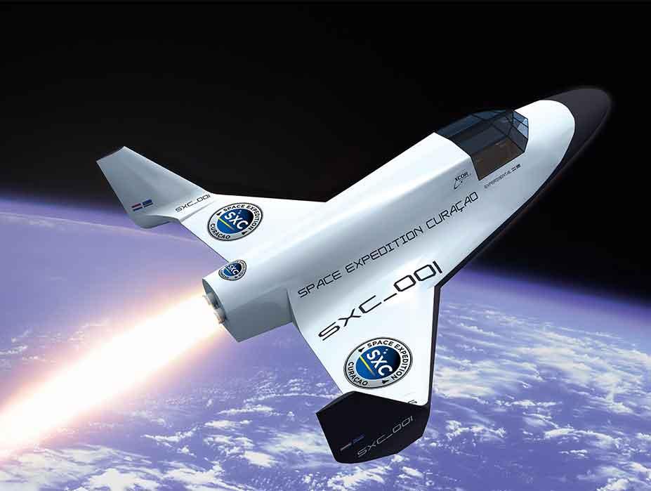 Spacecraft Trip Sxc