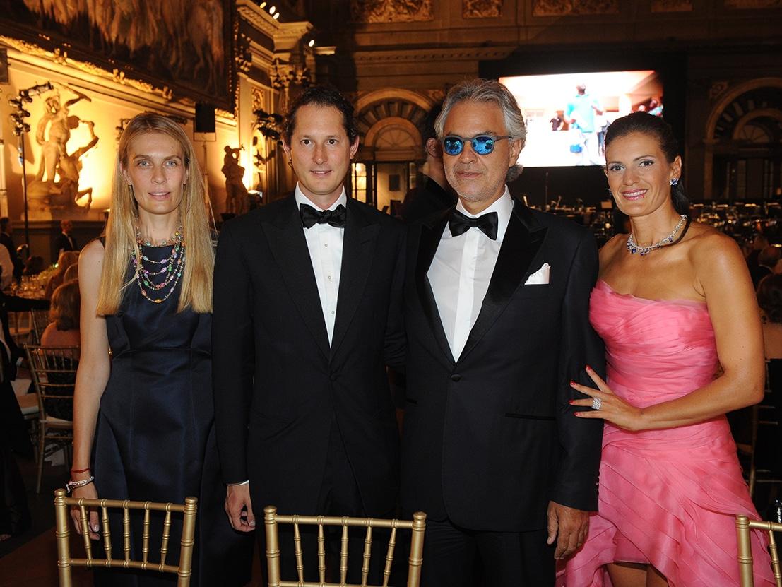 Andrea Bocelli Celebrities