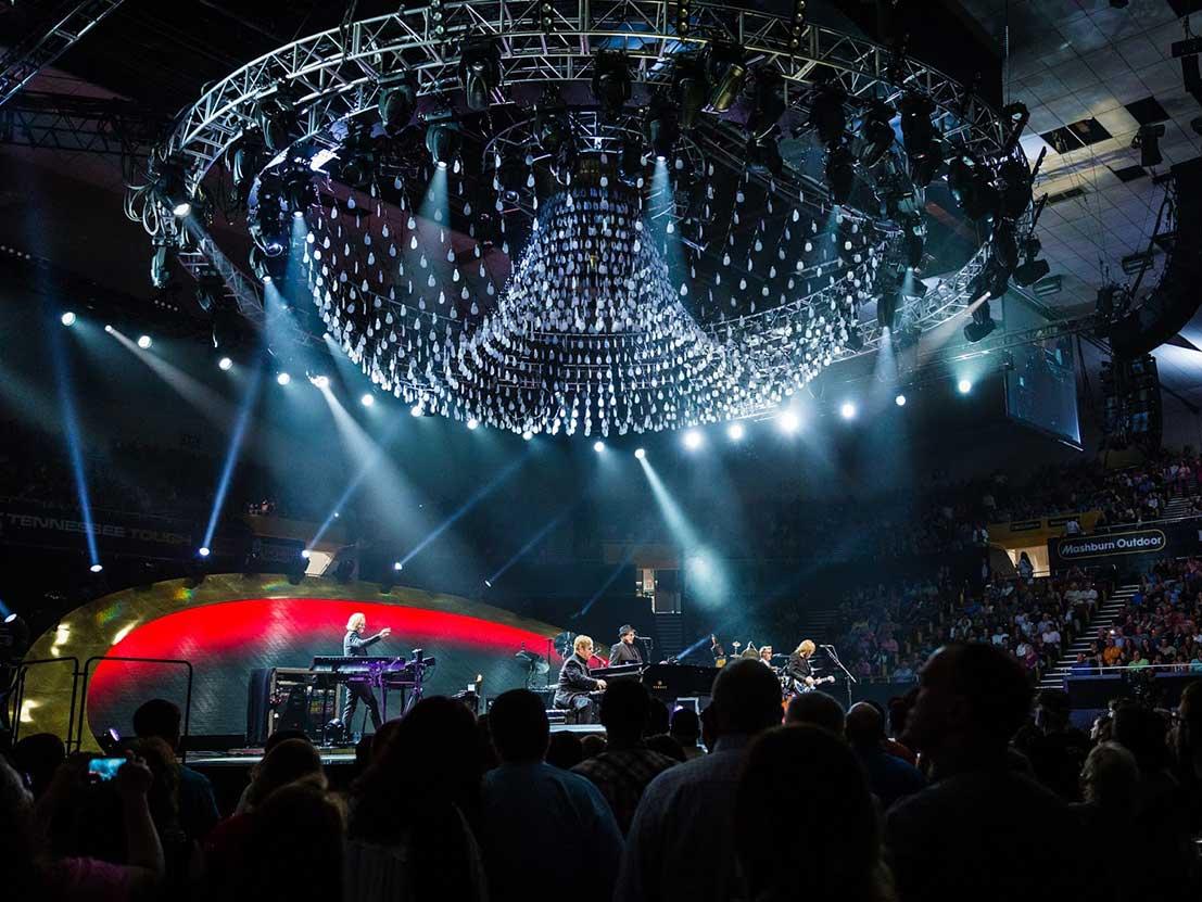 Elton John Black Sea Arena Georgia