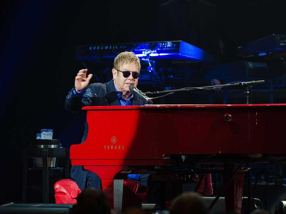 Sir Elton John Georgia Concert