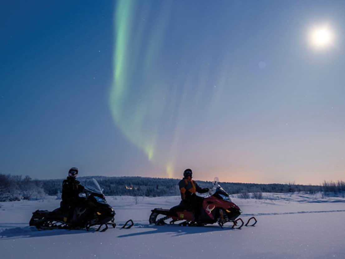 Snowmobile Lapland Experience
